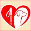 Le logo de la FFAC, la Fédération Française des Associations de Chiens guides d'aveugles