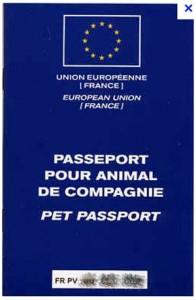 passeport européen pour voyage avec son chien